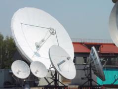 Строительство головных станций спутниковой связи